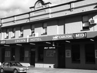 the crown hotel in collie western australia